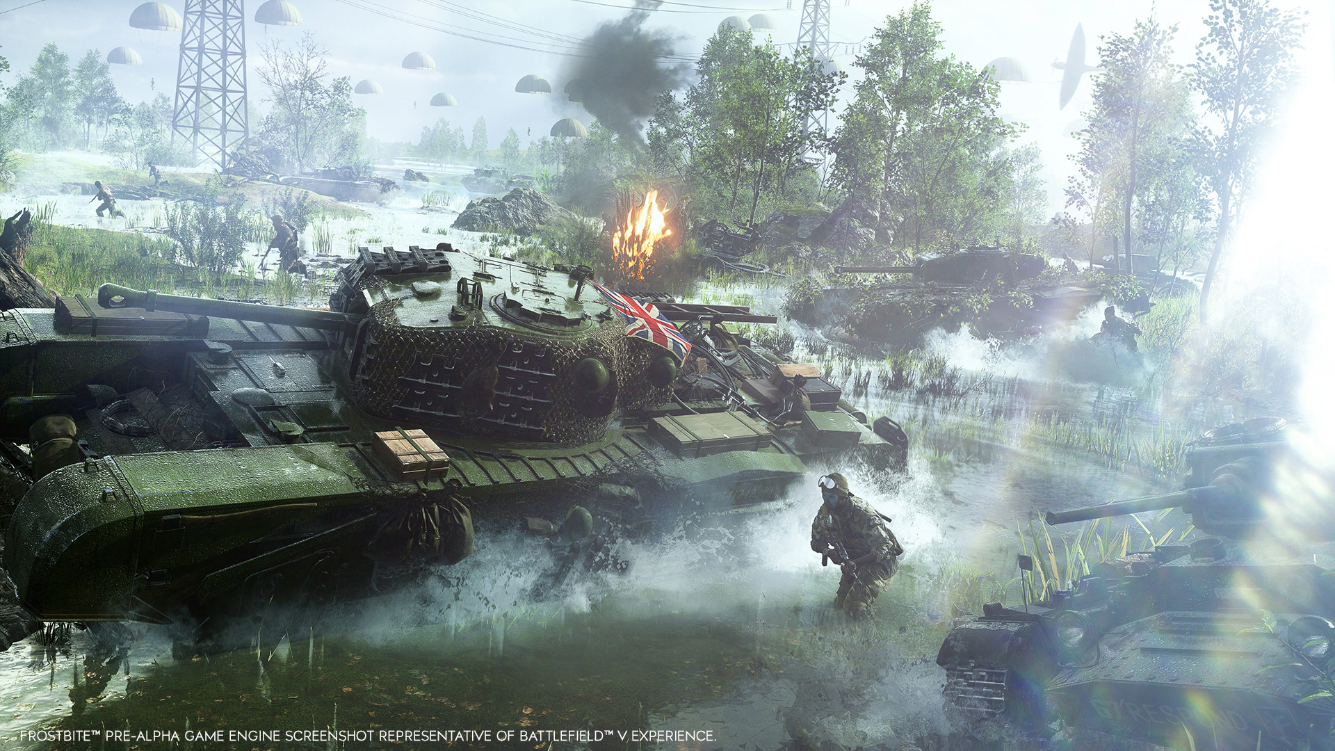 Battlefield V digital pre-orders open on Xbox One, to have 4K UHD, HDR10, & more