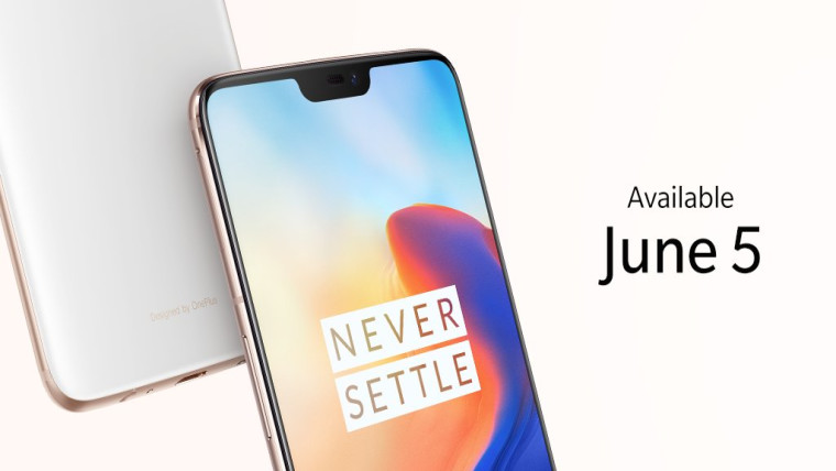 new concept f82c7 dcd23 If the current Midnight Black and Mirror Black color options of the OnePlus  6 aren t your thing, you might be delighted to know that a lighter hue of  ...
