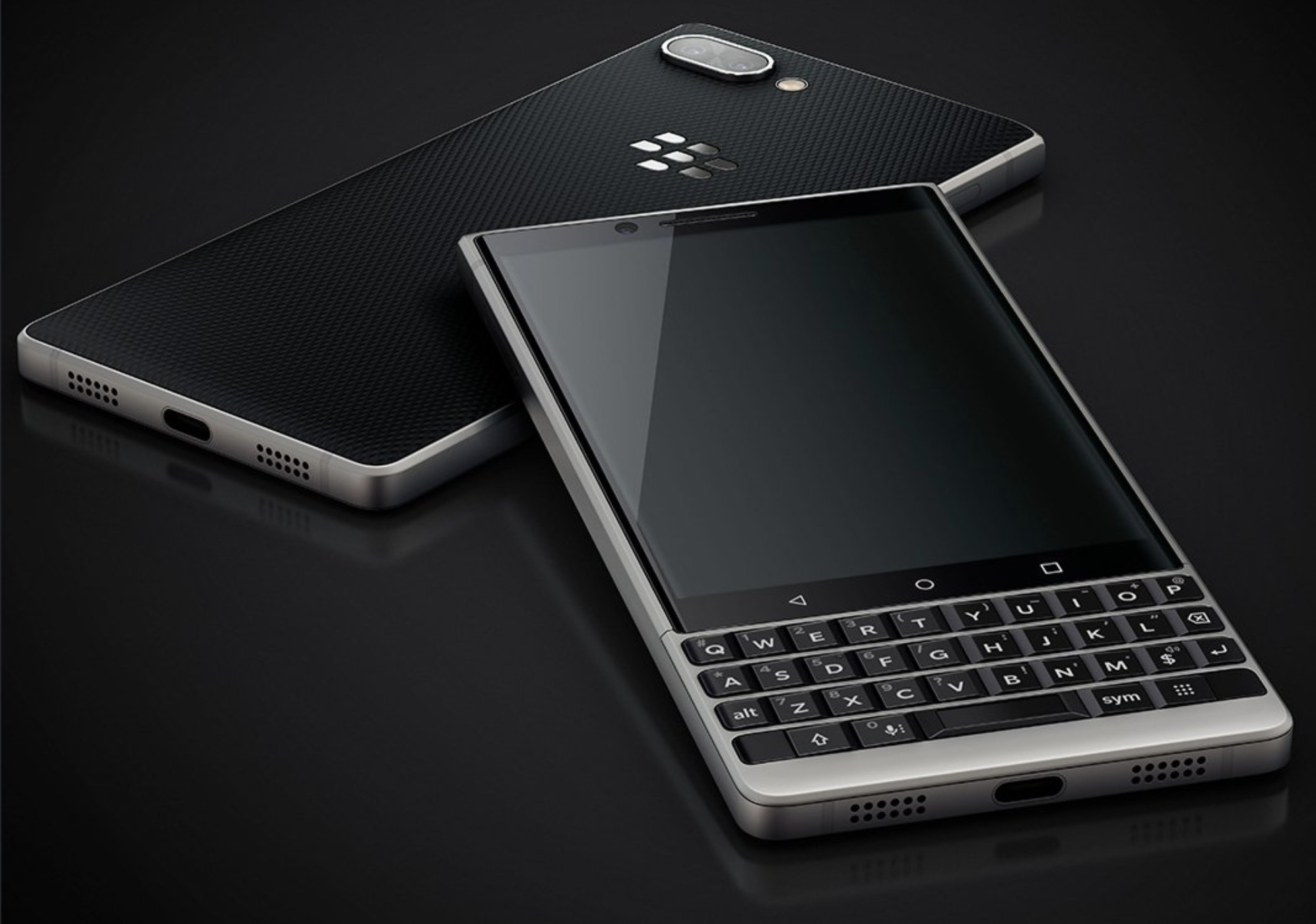 Leaked images show the Blackberry Key2