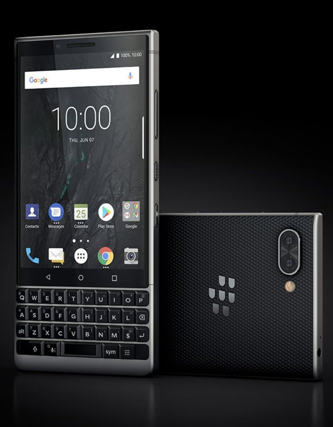 Ahead of June 7 launch, images of BlackBerry KEY2 leaked