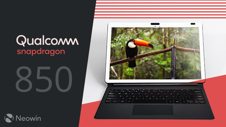 Qualcomm announces the Snapdragon 850 for Always Connected Windows