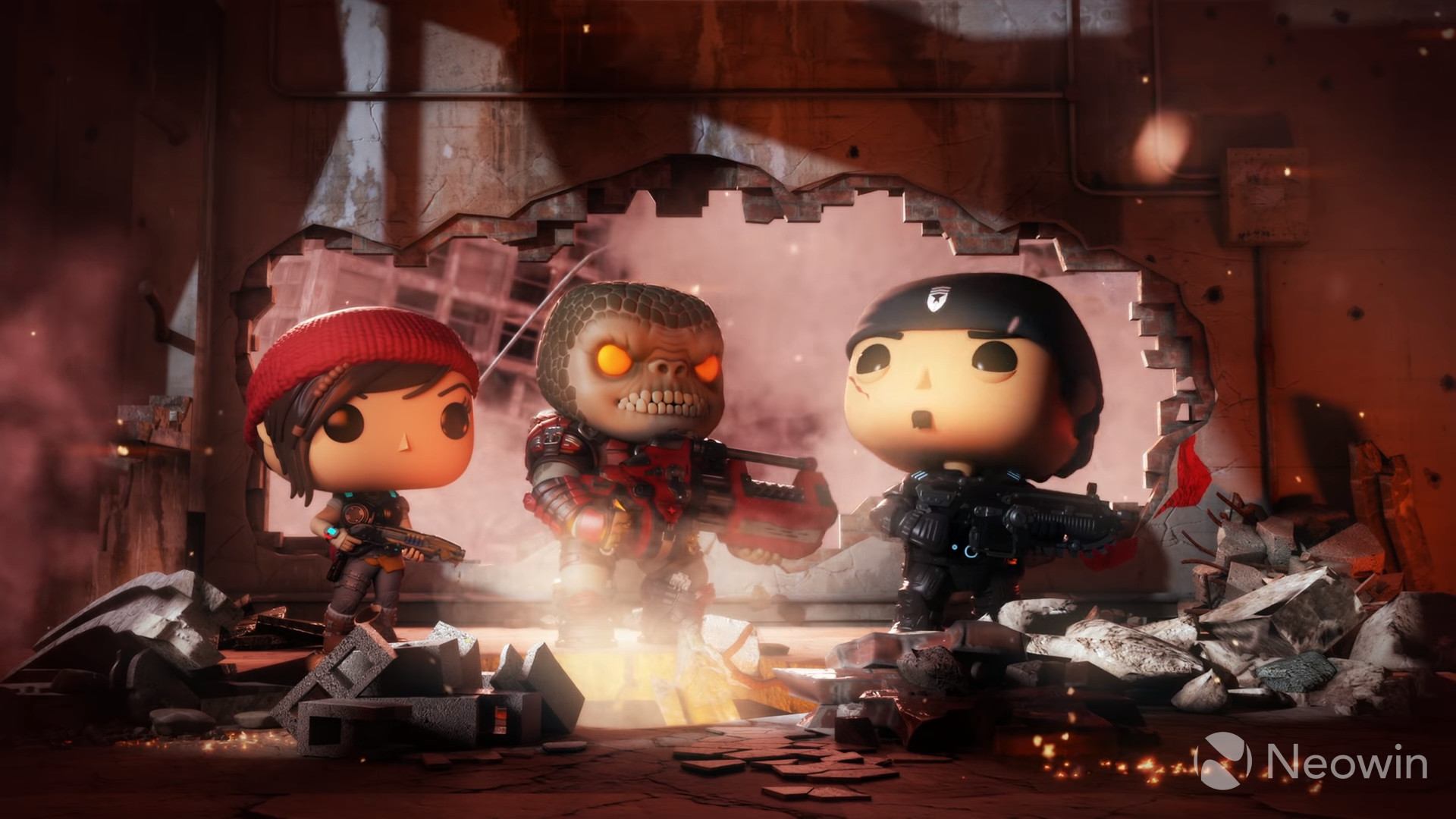 New Gears Of War Funko Pop Figures Will Be Hitting Store Shelves