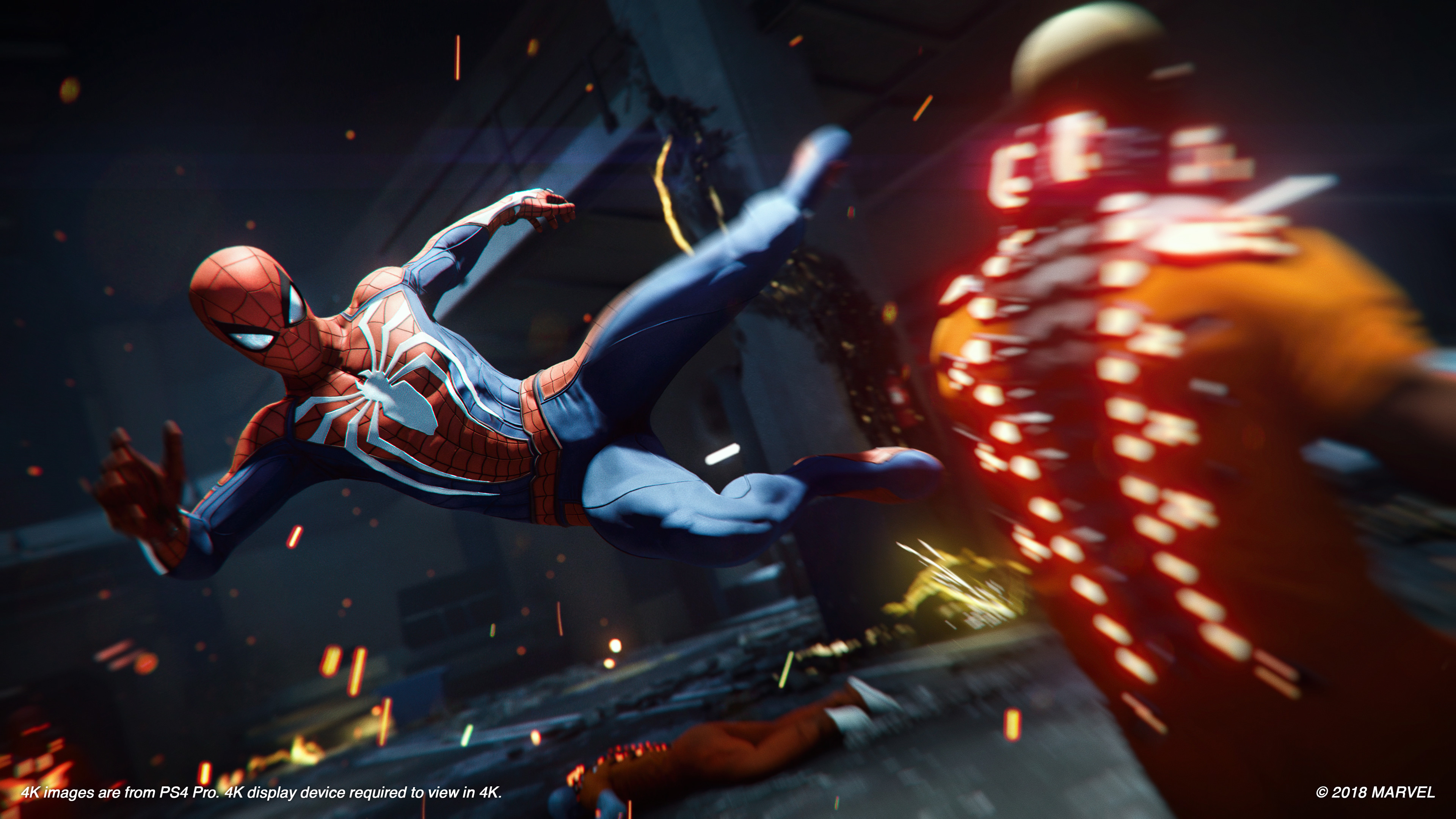 Marvel's Spider-Man E3 2018 show floor demo gameplay walkthrough