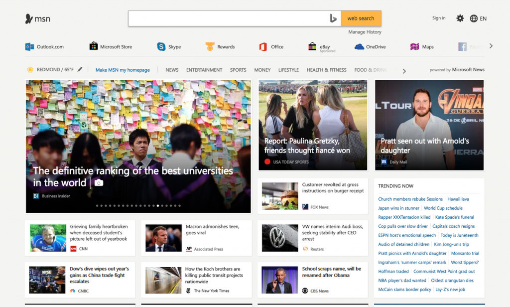 Microsoft follows Google with its own overhauled news app