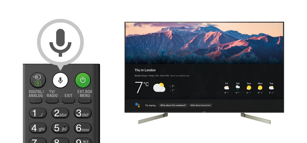 Google Assistant comes to Sony 4K Android TVs in the U.K. - Neowin