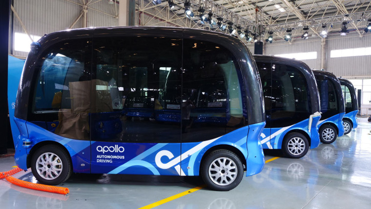 Baidu's autonomous buses are coming to Japan in 2019