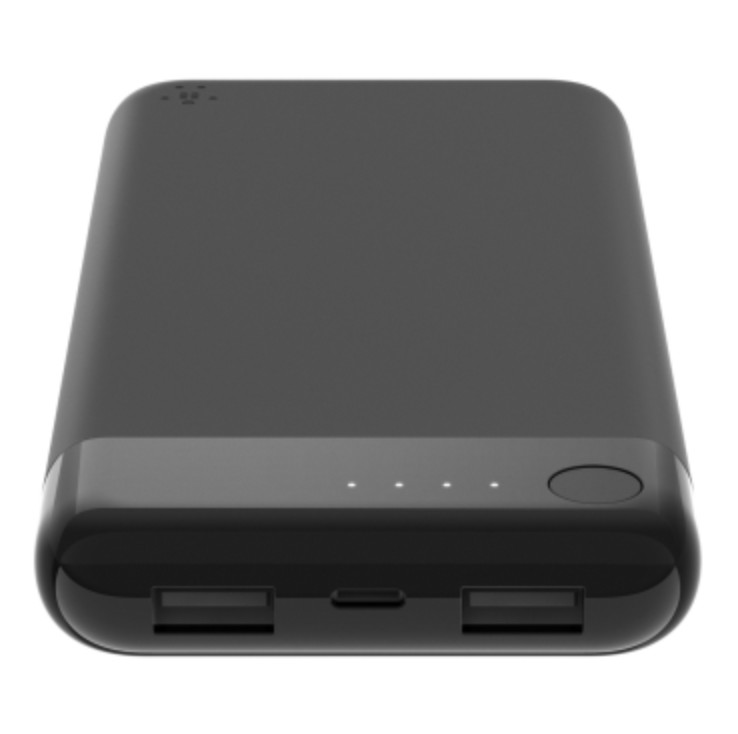 Belkin power bank charges with your iPhone's Lightning cable