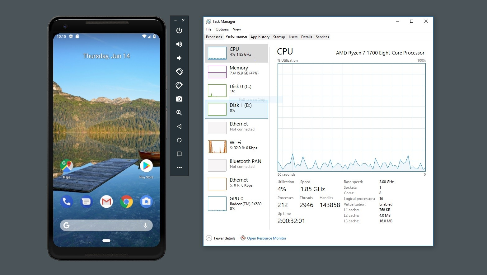 Android Emulator picks up optimizations for AMD processors