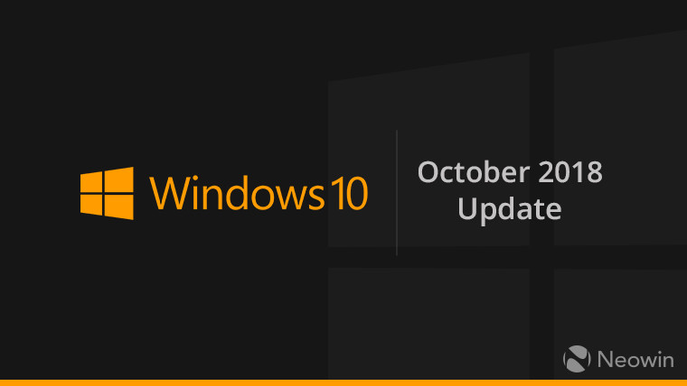5db986f5936a7f Windows 10 October 2018 Update may be released on October 2 - Neowin