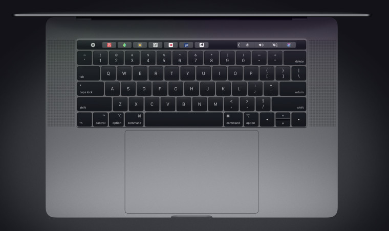 The new keyboard on the MacBook Pro sounds near identical to the old