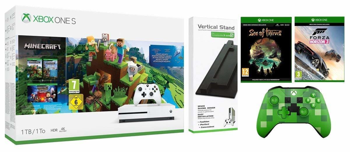Box Only Xbox One S 1tb Minecraft Bundle Microsoft