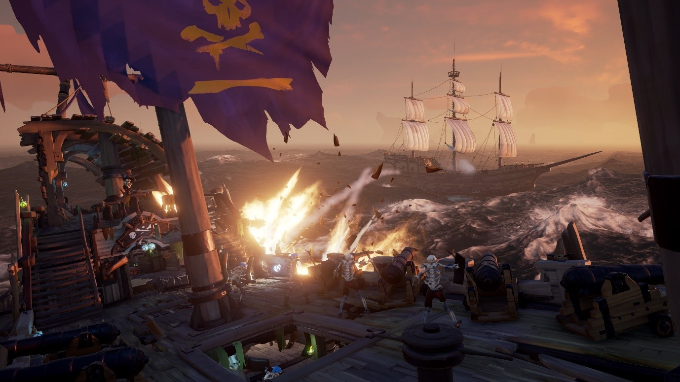 Sea Of Thieves Cursed Sails Update Goes Live As Skeleton Ships Rise