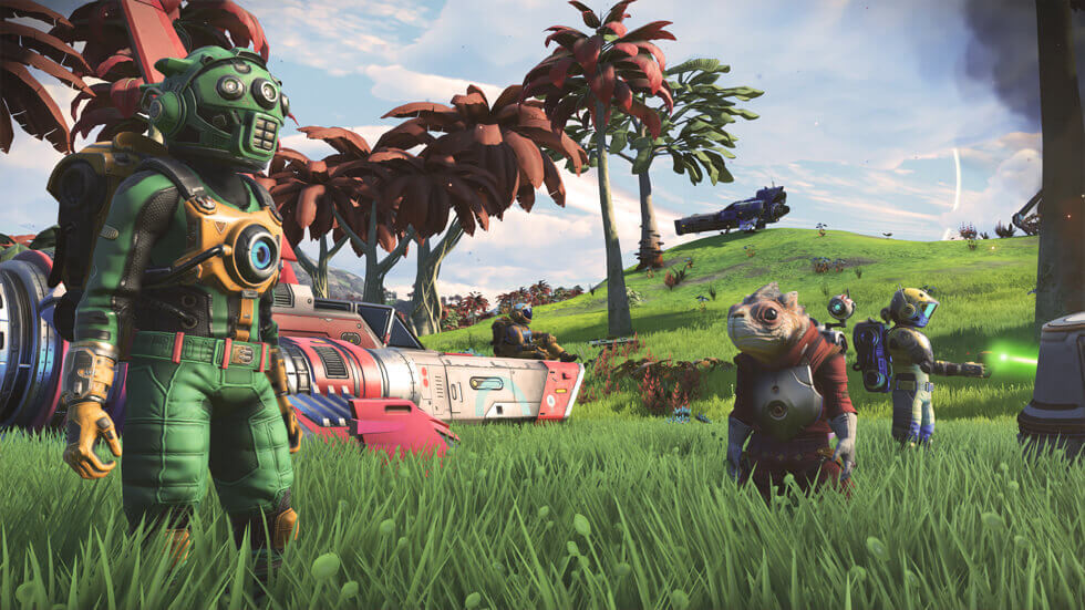 No Man's Sky multiplayer update gets a trailer, new content detailed