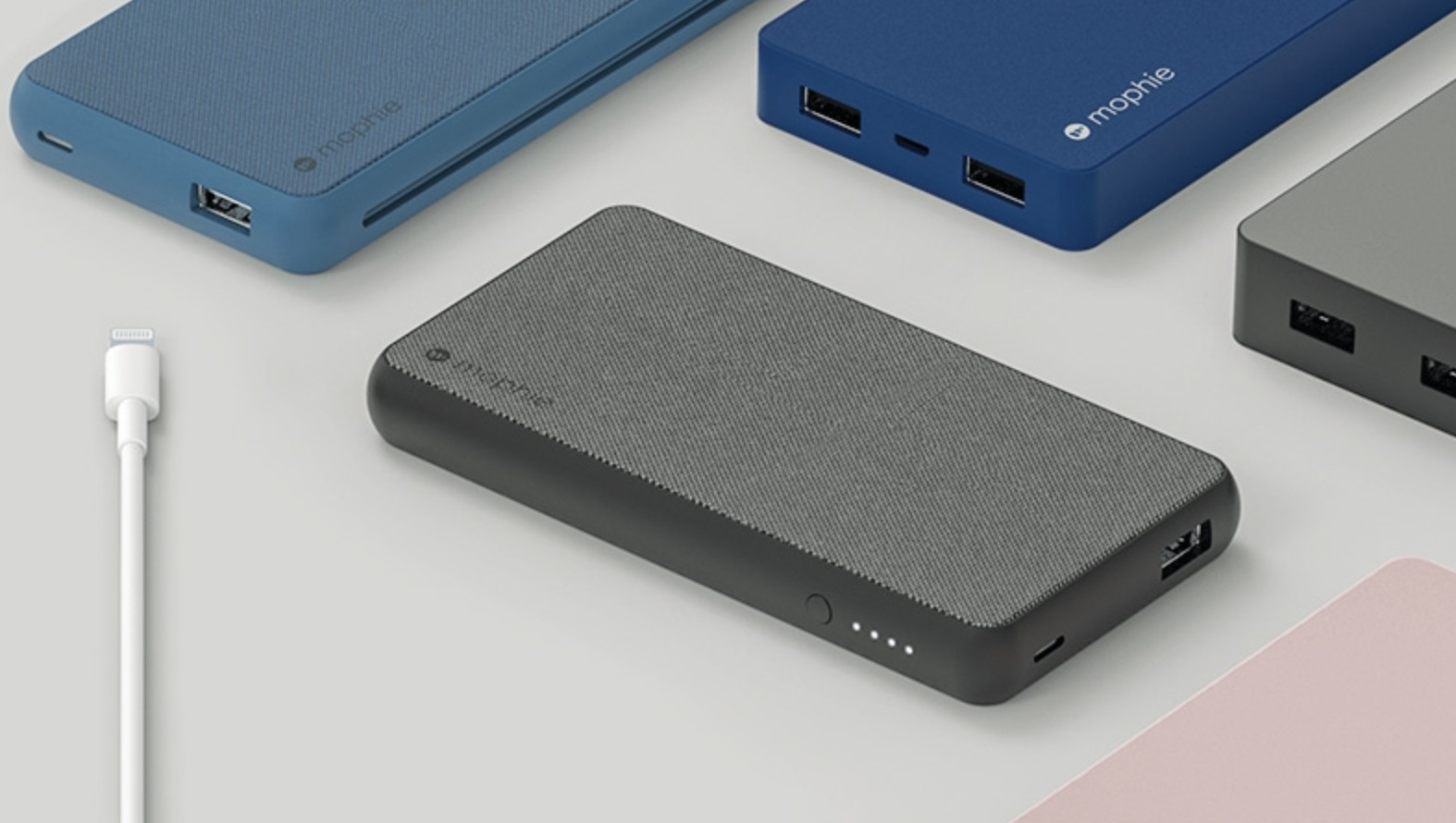 Mophie's new Apple-exclusive Powerstation portable chargers recharge via Lightning