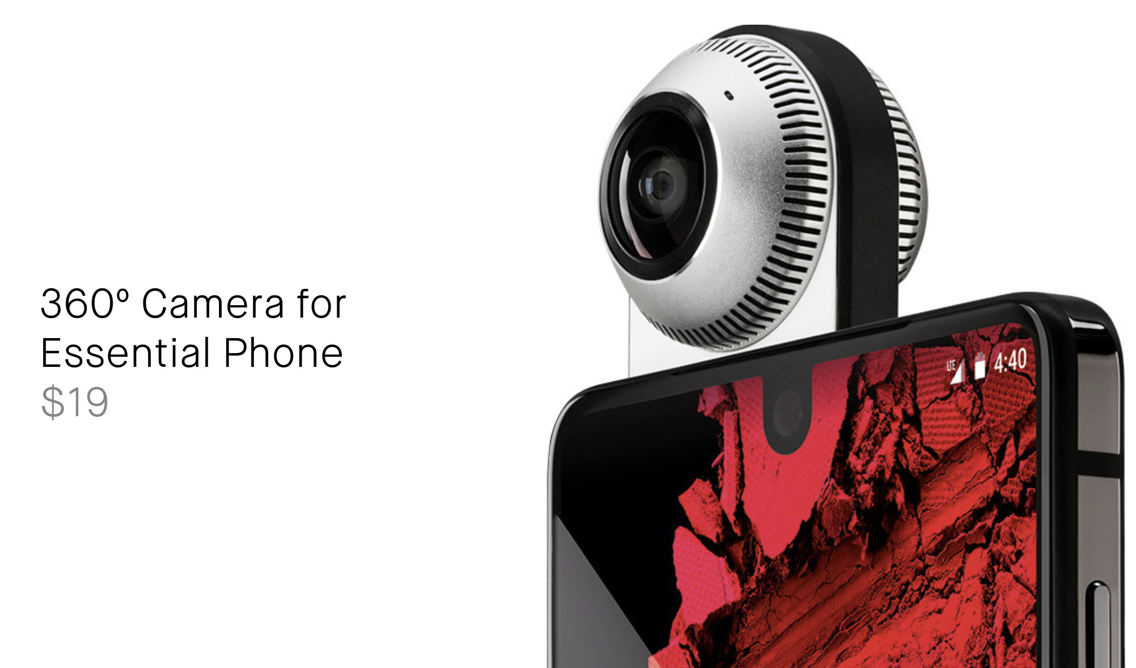 Essential discounts its 360 Camera accessory to $19 - Neowin