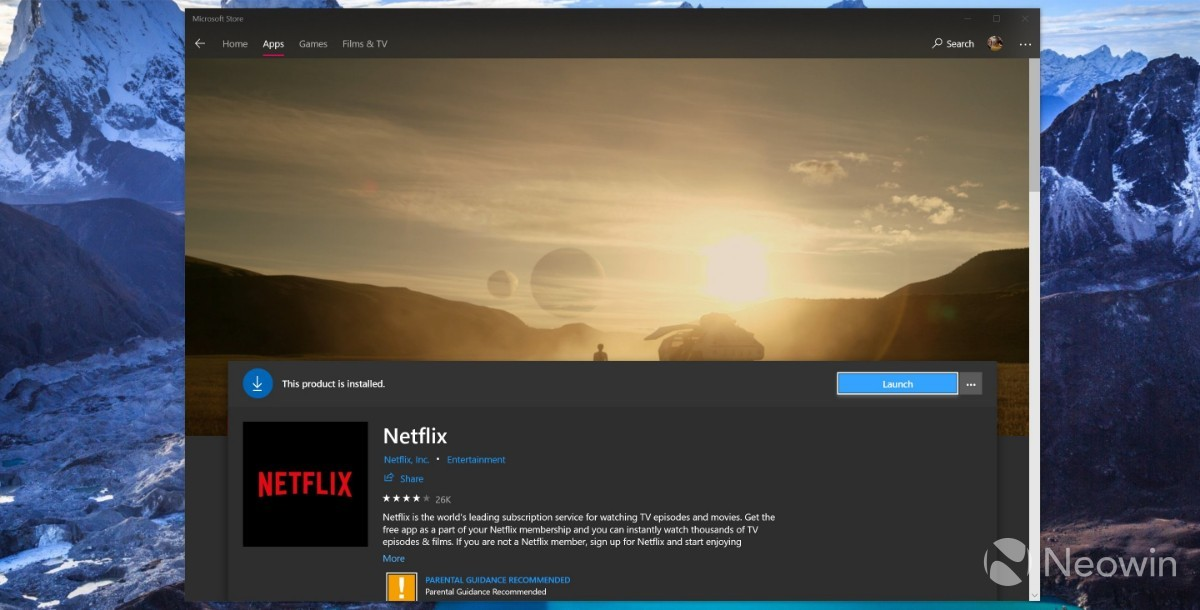 Microsoft Store Gets Improved Design in Windows 10