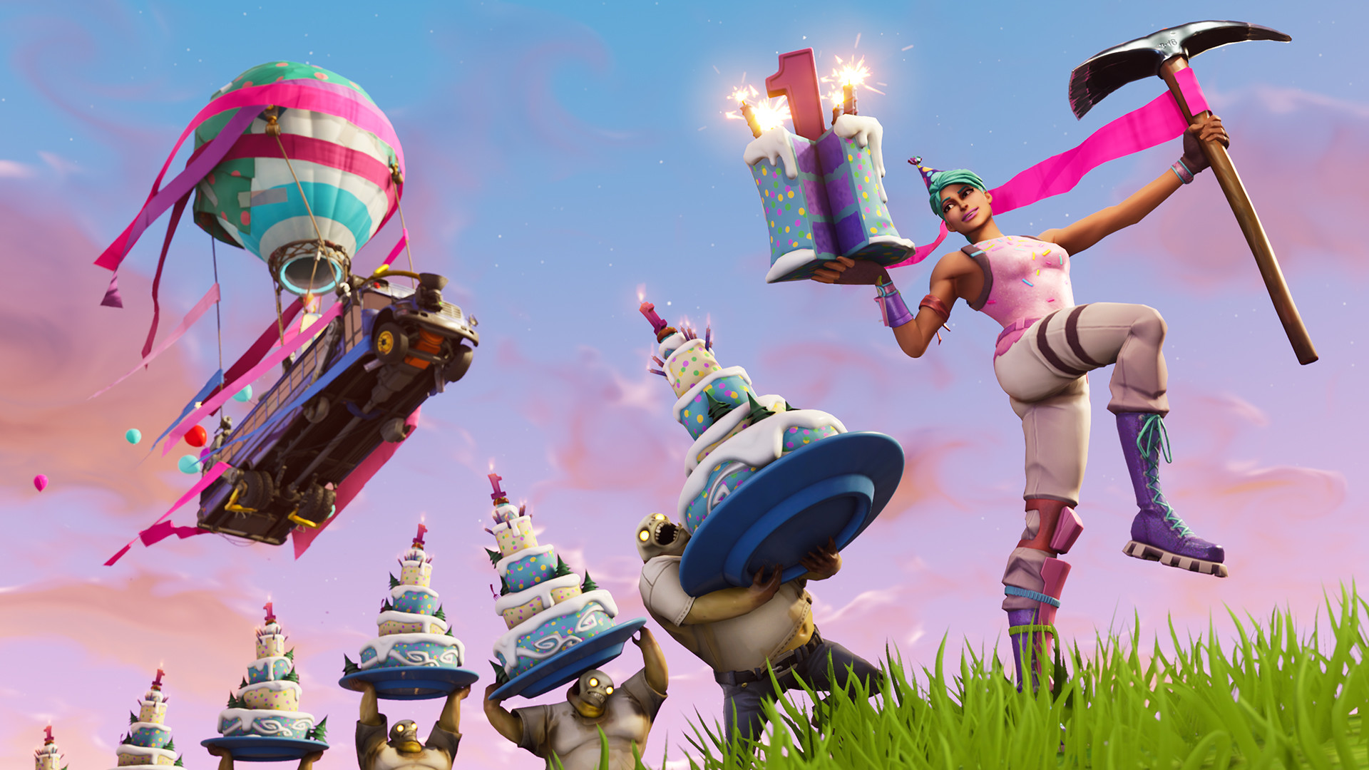 Fortnite Celebrates First Birthday With New Limited Time Event