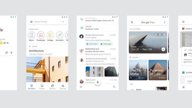 New Video Shows Mock Ups Of Revamped Google App Designs Neowin