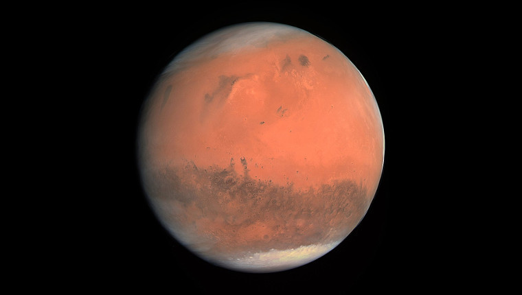 Huge lake of salty water found buried deep in Mars