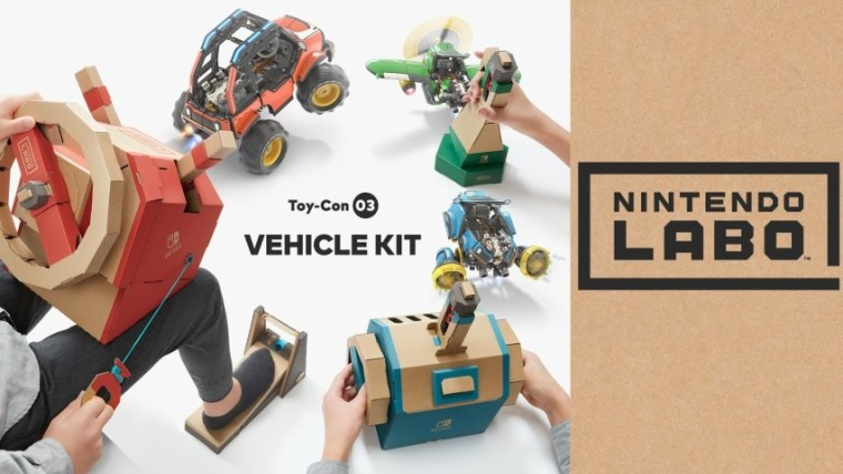 519063f12d3 Nintendo's unique Labo concept, which blends cardboard toys called Toy-Con  and video games on the Nintendo Switch, is set to expand later this year.