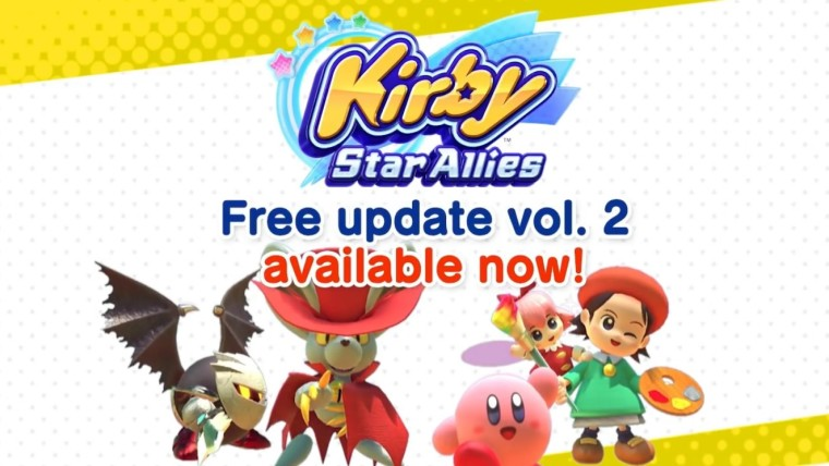 Kirby Star Allies gets new Dream Friends in latest update - Neowin