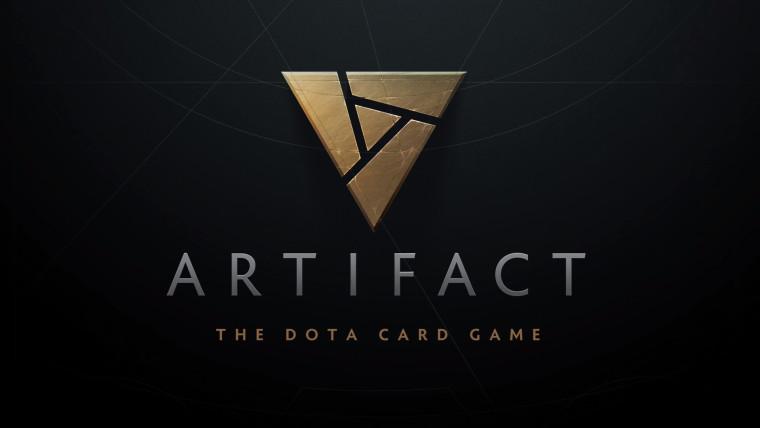 Artifact card game logo
