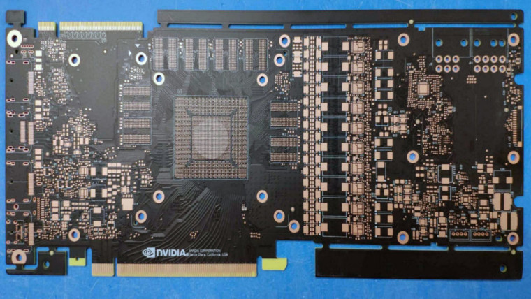 A new Nvidia PCB leaks from China, possibly for the GTX 2080