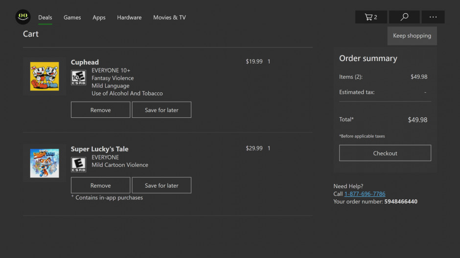 Microsoft Store gets new Shopping Cart feature in Windows 10 and