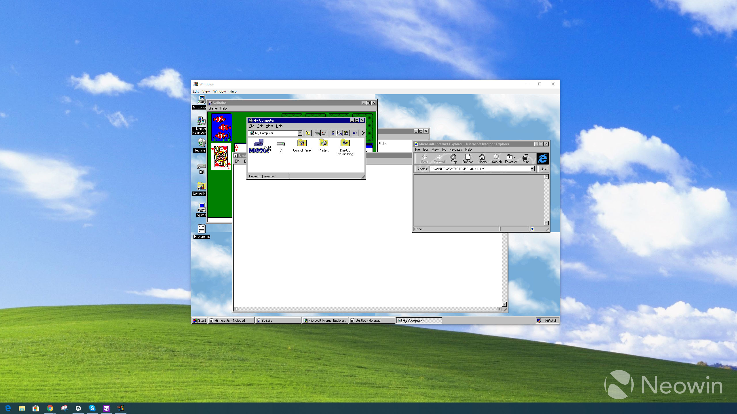 You can relive your youth with Windows 95, which now comes as an