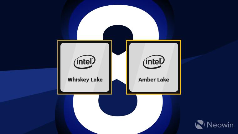 Intel finally announces its Amber Lake and Whiskey Lake