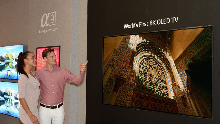 [IFA 2018] LG unveils world's first 8K OLED TV