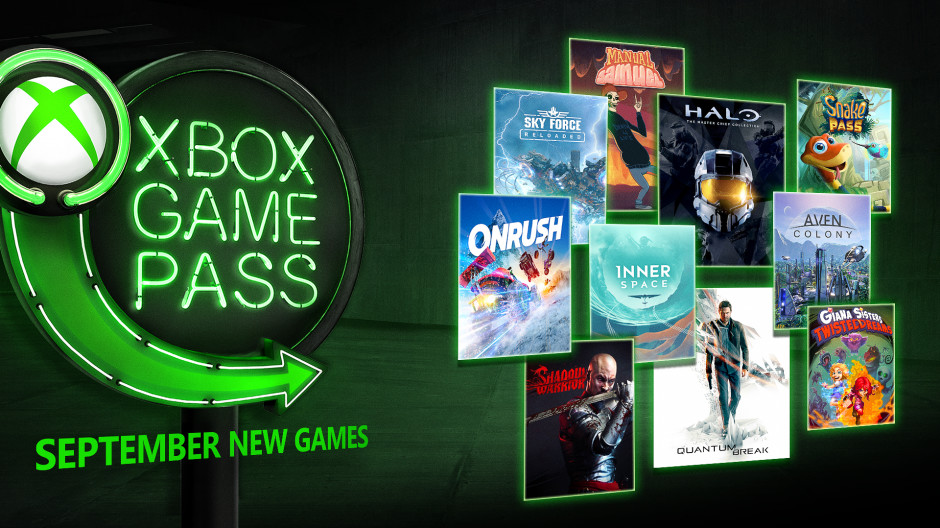 Quantum Break and ONRUSH coming to Xbox Game Pass in September