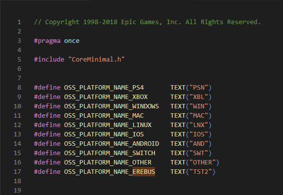 Unreal Engine code hints at next-gen console