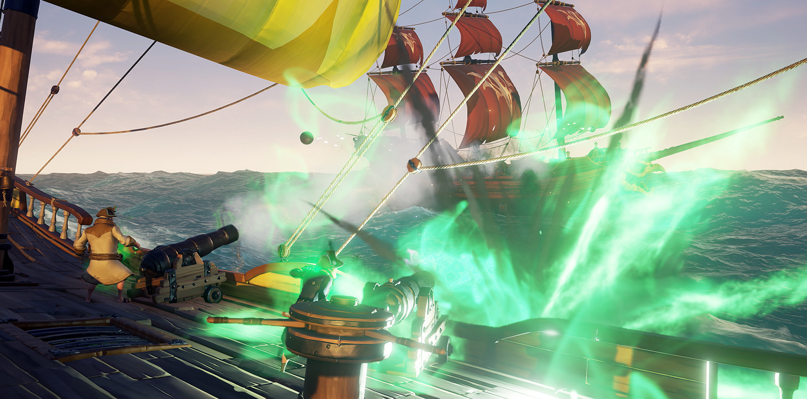Sea of Thieves 1 2 4 update heralds cursed cannonballs for