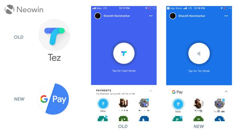 Google Tez rebranding to Google Pay reaches iOS - Neowin