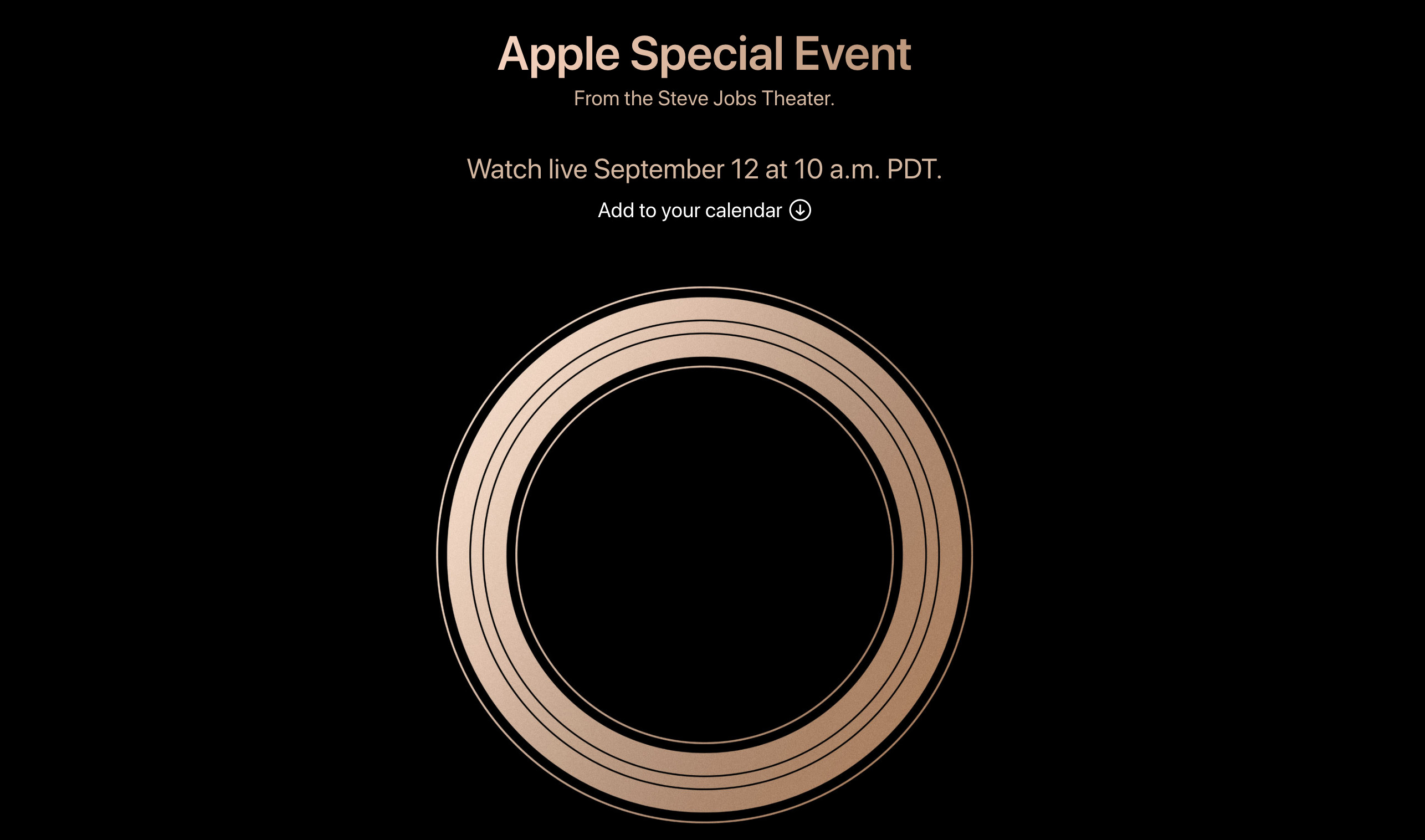 Apple event: Product launch starts with Apple Watch Series 4