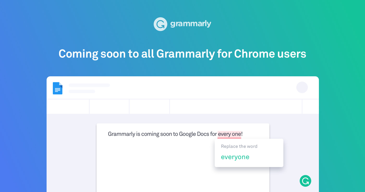 Grammarly can now check your work in Google Docs - Neowin