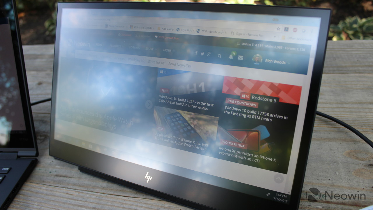... the HP EliteDisplay S14, but you should still totally buy it. If your  laptop has a USB Type-C port with DisplayPort-out, you could benefit from  this. c92e36c7df7d