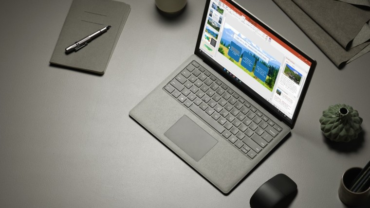 Surface laptop promo image