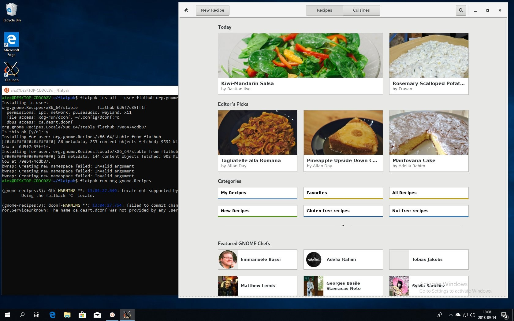 windows 10 linux subsystem