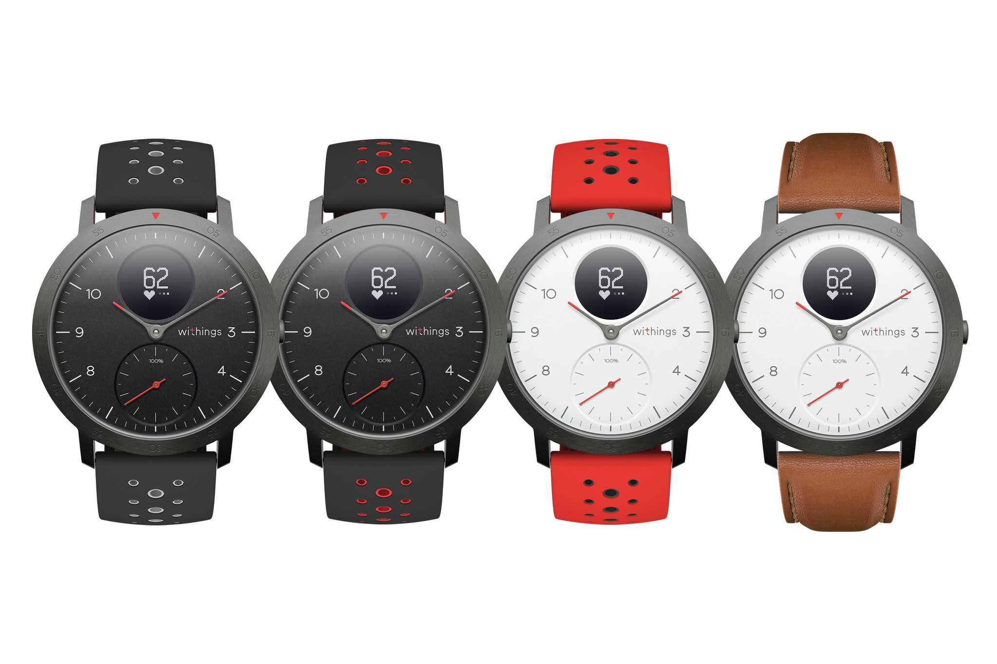 Withings releases Steel HR smartwatch after reacquisition from Nokia