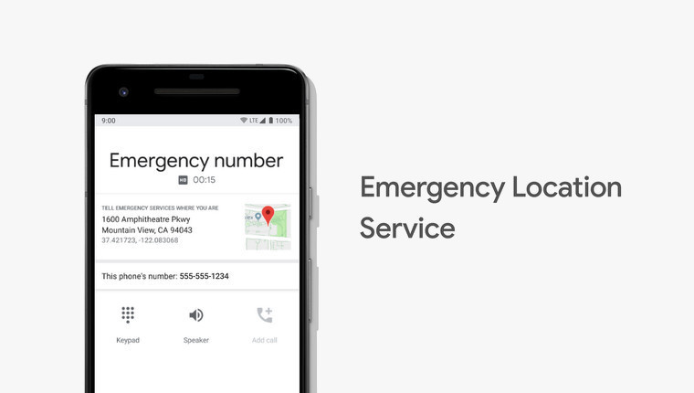 Google `Emergency Location Service` for Android now in US