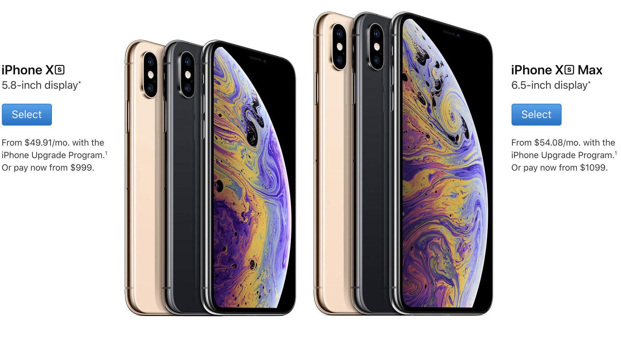 The IPhone Xs And IPhone Xs Max Won't Ship Until October
