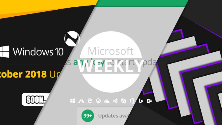 Microsoft Weekly: RTM draws near, app updates appear