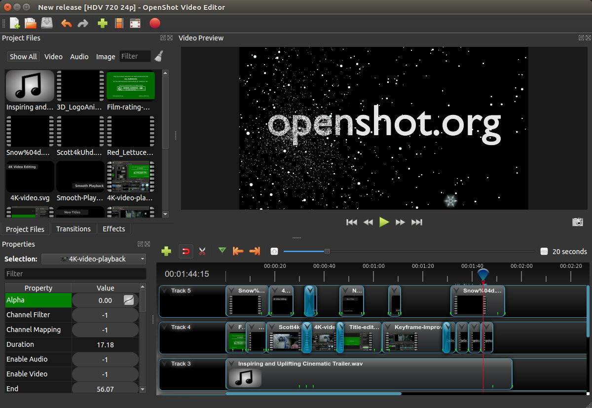 OpenShot Video Editor 2 4 3 - Neowin