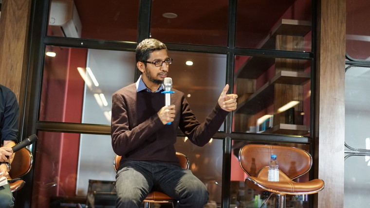 Image of Google CEO Sundar Pichai
