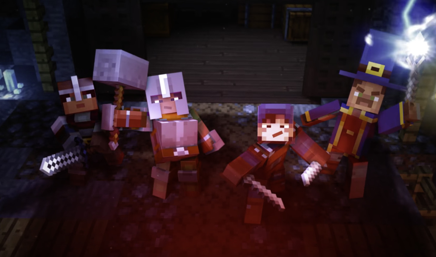 Minecraft: Dungeons is a dungeon crawler spin-off for up to four players