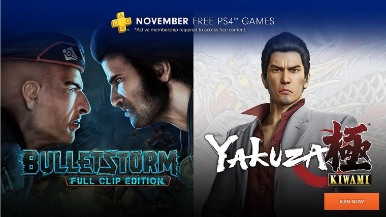 PS Plus free games for November released early, include