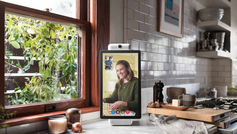 Facebook's Alexa-powered smart display is called Portal, and it's enormous