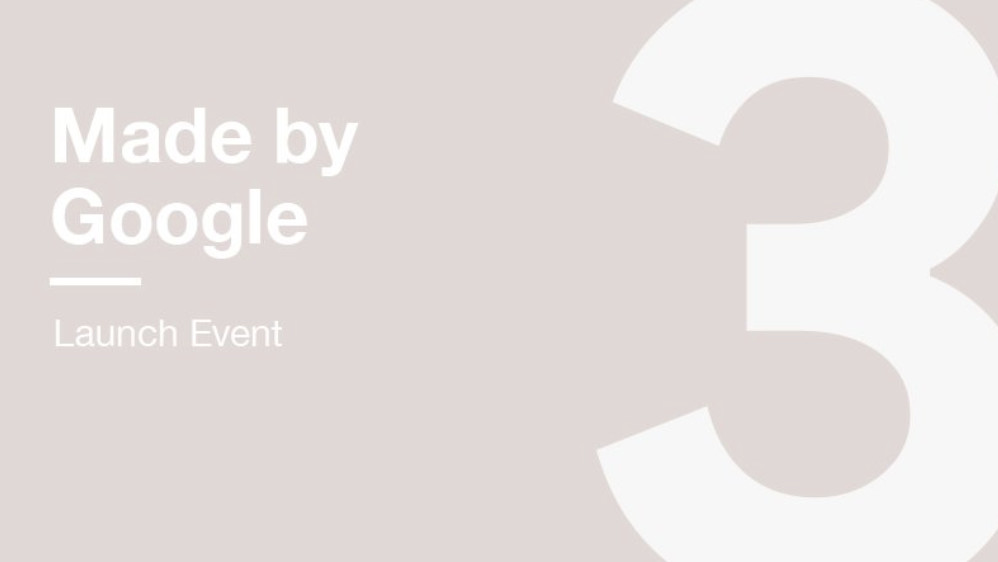 Pixel 3 launch: Google to unveil iPhone challenger and smart home hub